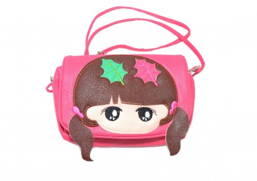 a00b63f239293 Torebka dziewczęca różowa - Kales Pasmanteria Internetowa